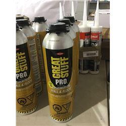 Great Stuff Pro Polyurethane Foam Adhesive (3 x 751g)