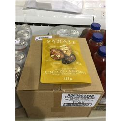 Case of Sahale Snacks Honey Glazed Almond Mix (6 x 113g)