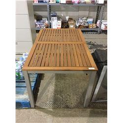 "FSC Wooden Table (59"" x 35"" x 29"" H)"