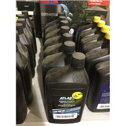 Atlas Premium Synthetic Snow Thrower Engine Oil SAE 5W-30 (1L) Lot of 7