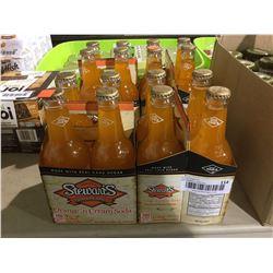 Stewart's Original Orange 'n Cream Soda (4 x 355mL) Lot of 2