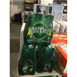 Perrier Carbonated Natural Spring Water (6 x 500mL) Lot of 3