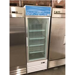 "Alamo Refrigeration 12 CuFt Glass Door Freezer Merchandiser - Model: D368BMF (27"" x 27"" x 85"")"