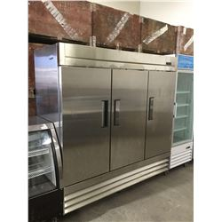 "True Three Section Reach In Refrigerator - Model: F-72 (81"" W x 32"" L x 83"" H)"