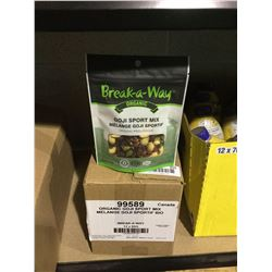 Case of Break-a-way Organic Goji Sport Mix (12 x 85g)