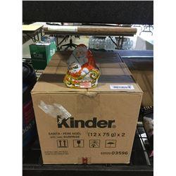 Case of Kinder Surprise Santas (12 x 75g)