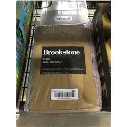 "Brookstone Total Blackout Grommet Panel (50"" x 108"")"