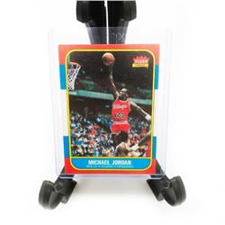 1986 Fleer Premier Micheal Jordan RC Rookie Card