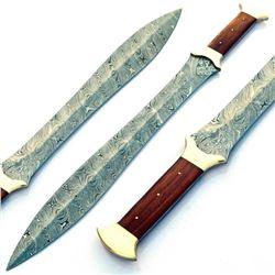 THE GLADIATOR Damascus Sword