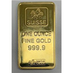 PAMP Suisse Novelty One Ounce Fine Gold Bullion