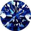 Image 1 : Extra Fine Rich Royal Blue African *ROUND CUT* VVS2-VS1 Grade Diamond