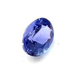 1.17ct Oval Faceted Tanzanite Gemstone