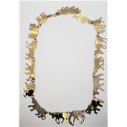 WILD BRYDE AFRICAN ANIMAL NECKLACE