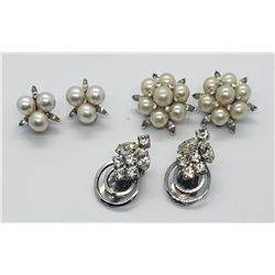 3-VTG EARRING SETS: PAT 1967965