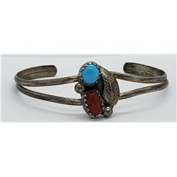 NAVAJO CHILD CUFF BRACELET