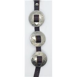 CHONCHO LEATHER BRACELET