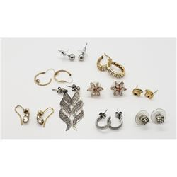 9pr PIERCED EARRINGS (1) STERLING