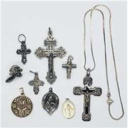 9-RELIGIOUS JEWELRY PIECES