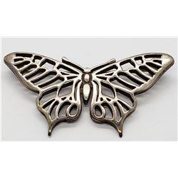 Butterfly Pin/Brooch 925 Sterling by B.W.