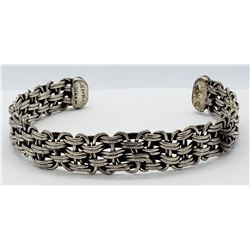 MEXICO TH-107 STERLING CUFF BRACELET