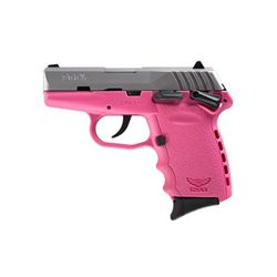 """SCCY CPX-1 9MM 3.1"""" 10RD SATIN/PINK"""