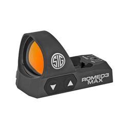 SIG ROMEO3 MAX REFLEX SIGHT 3MOA BLK