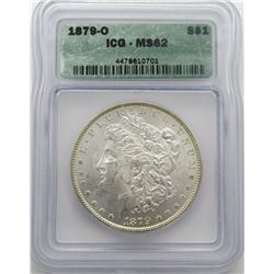 1879-O Morgan Silver Dollar ICG MS 62