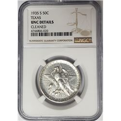 1935-S 50C Texas Commemorative Half Dollar