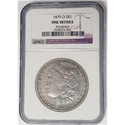 1879-O Morgan Silver Dollar NGC Fine Details