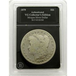 1879-S MORGAN DOLLAR VG