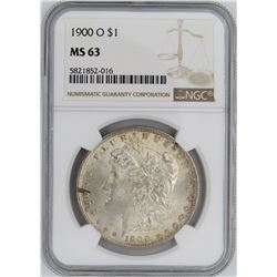 1900-O NGC MS63 MORGAN SILVER DOLLAR