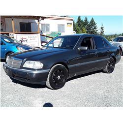 B3 --  1994 MERCEDES C280 , Black , 347101  KM's