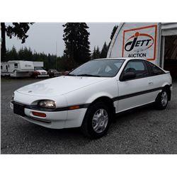 B5 --  1992 NISSAN NX 1600 , White , 145747  KM's