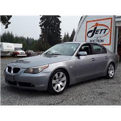 C3 --  2005 BMW 530I  , Grey , 248270  KM's