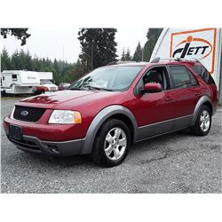 A12B --  2005 FREESTYLE SEL  , Red , 200242  KM's