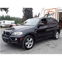 C6A --  2009 BMW X5 XDRIVE 3.0I , Black , 233794  KM's