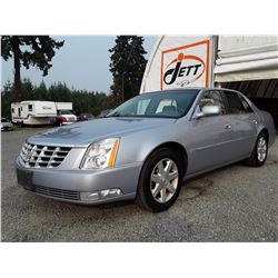 C6G --  2006 CADILLAC DTS , Silver , 72735  KM's