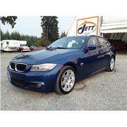 C6F --  2011 BMW 328 XI  XDRIVE AWD , Blue , 146367  KM's