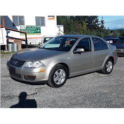 B4 --  2008 VW JETTA  , Brown , 158332  KM's