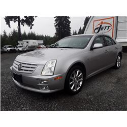 D3 --  2005 CADILLAC STS 4  , Silver , 185484  KM's