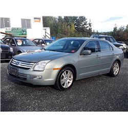 C1 --  2008 FORD FUSION SEL , Green , 170065  KM's