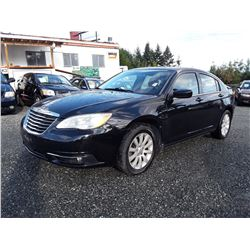 C6 --  2011 CHRYSLER 200 TOURING , Black , 92516  KM's