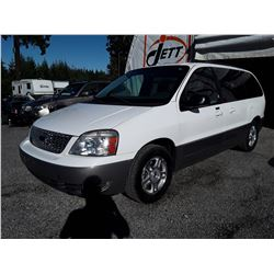 "A9 --  2005 FORD FREESTAR LTD , White , 223159  KM's  ""NO RESERVE"""