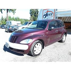 E2 --  2002 CHRYSLER PT CRUISER , Purple , 111855  KM's