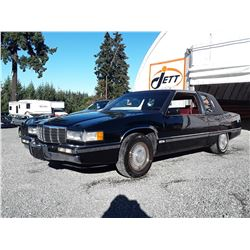 0H --  1991 CADILLAC FLEETWOOD , Black , 158509  KM's