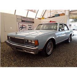0K --  1978 CHEVROLET CAPRICE , Blue , 74,214  KM's, 5 DIG ODO *TMU*
