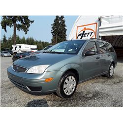 A11 --  2005 FORD FOCUS ZXW , Grey , 241350  KM's
