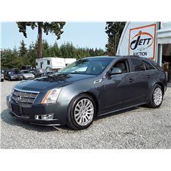 "A1 --  2010 CADILLAC CTS4 PERFORMANCE COLLECTION , Blue , 116676  KM's ""NO RESERVE"""