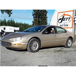 "A12C --  1998 CHRYSLER CONCORD  , Brown , 216680  KM's ""NO RESERVE"""