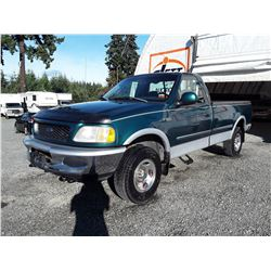 G6 --  1998 FORD F-150 XLT , Green , 172015  KM's